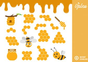Bee hive SVG – commercial use – t shirt design to buy