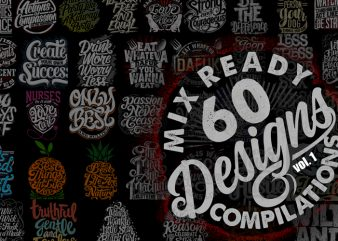 Mix 60 Designs Bundle collections