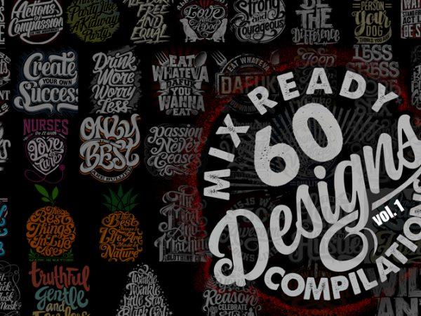 Mix 60 Designs Bundle collections