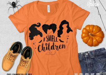 I Smell Children t shirt design for purchase