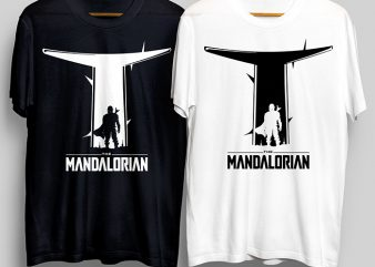 The Mandalorian, This Is The Way T-Shirt Design for Commercial Use