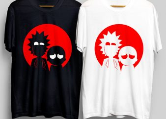 Scary T-Shirt Design for Commercial Use