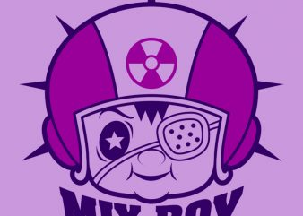 MIX BOY t-shirt design for sale