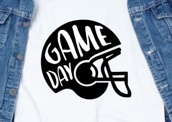 Game Day t-shirt design for commercial use