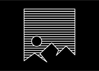 Mountain Stripes t shirt design for purchase