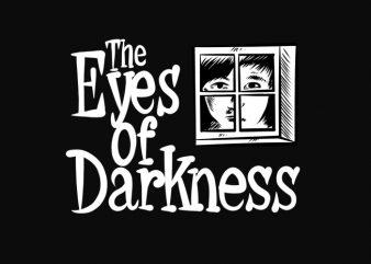 The Eye of Darkness Design, Coronavirus Predicted 40 years ready made tshirt design