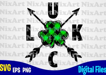 Luck, Plaid, Patricks day, Shamrock, Shamrock svg, Funny Patricks day design svg eps, png files for cutting machines and print t shirt designs for sale t-shirt design png