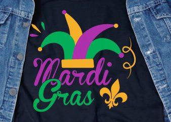 Mardi Gras – Commercial Use Tshirt Design