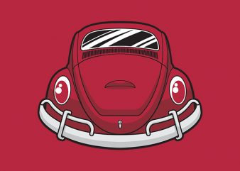 Smiley Beetle Car shirt design png