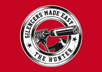 The Hunters t shirt design for sale