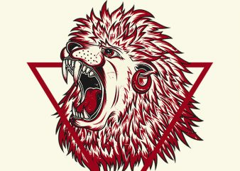 The Red Lion buy t shirt design artwork