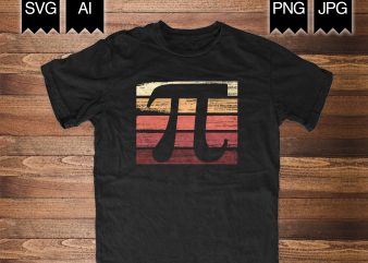 Pi day Shirt commercial use t-shirt design