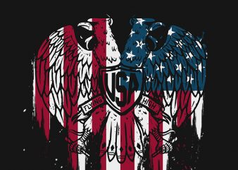 USA Flying High t shirt design to buy