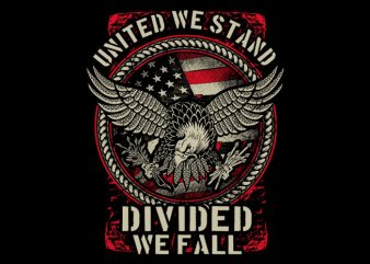 United We Stand ready made tshirt design