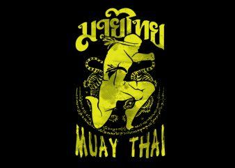 Muay Thai 14 t shirt design for purchase