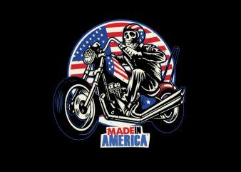 ride american flag shirt design png