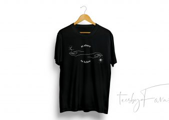 As Above So Below | Simple artwork | Quote T shirt design for sale