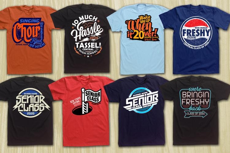 SCHOOL CLUB T-SHIRT BUNDLE design for t shirt t shirt design for printify
