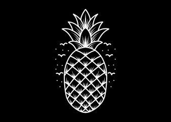 pineapple tshirt design