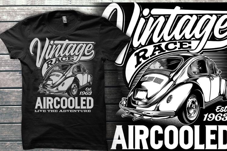Automotive collection Graphic T-shirt t shirt designs for sale
