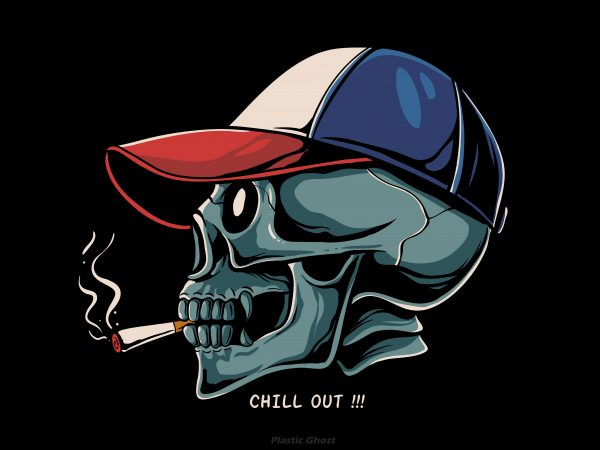 chill out t shirt design for sale