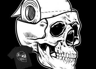 skull toilet paper brain buy t shirt design
