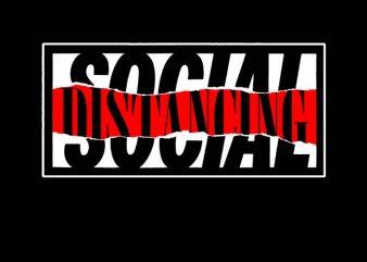 social distancing shirt design png