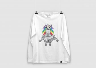 Unicorn | Horse | T shirt Design | Design for sale