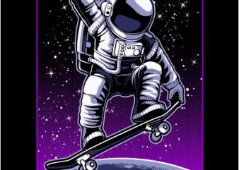 Astronaut 3 buy t shirt design artwork