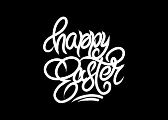 Happy Easter t-shirt design png