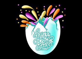 Happy Easter Egg buy t shirt design artwork