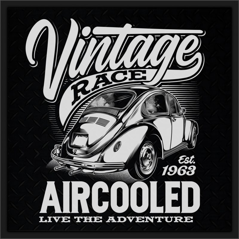 Automotive collection Graphic T-shirt t-shirt design for merch by amazon