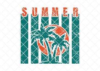 summer/beach graphic t-shirt design
