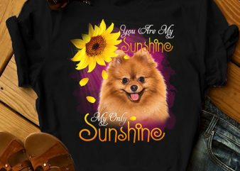 1 DESIGN 30 VERSIONS – DOGS – My sunshine – t shirt design for purchase