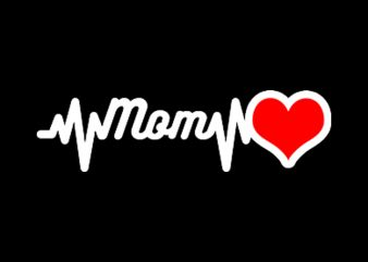 love mom buy t shirt design artwork