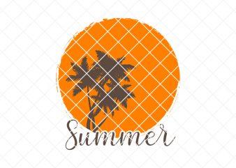summer/beach tshirt design