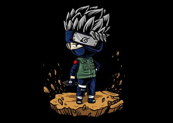 Kakashi Hatake cartoon shirt design png buy t shirt design artwork