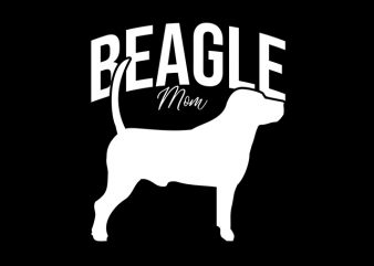 Beagle Mom t shirt design to buy
