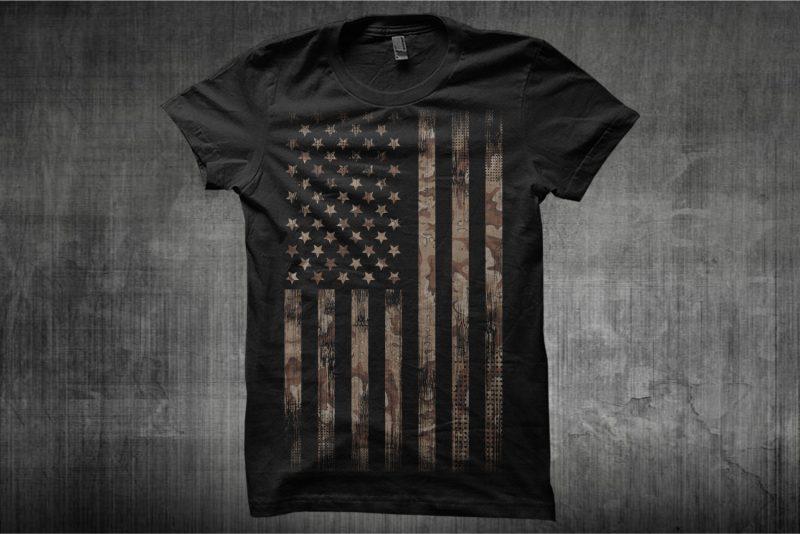 Bundle Premium T-Shirt Designs – American Themes – Volume 1