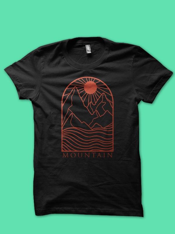 gold line art bundle tshirt design