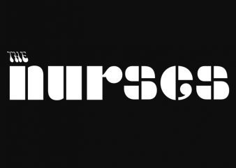 The Nurses The doors parody ready made tshirt design