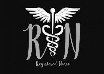 Registered Nurse buy t shirt design artwork