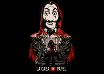 MONEY HEIST – LA CASA DE PAPEL tshirt design