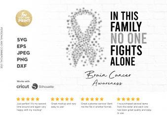 BRAIN CANCER awareness buy t shirt design