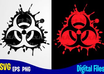 Biohazard, COVID-19, covid, Corona, covid, Funny Corona virus design svg eps, png files for cutting machines and print t shirt designs for sale t-shirt design png