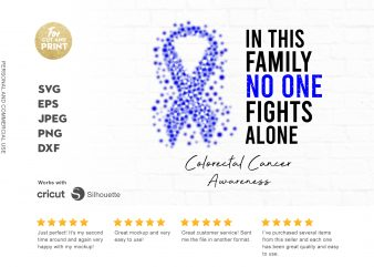 COLOTERAL CANCER awareness graphic t-shirt design
