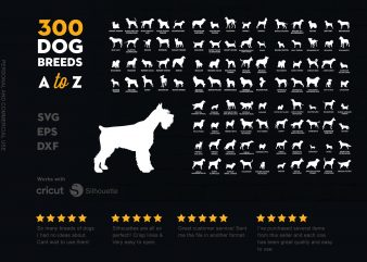 300 Dog Bundle A to Z