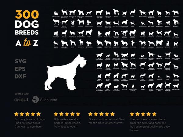 300 Dog Bundle A to Z