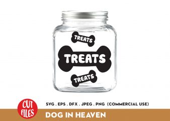 Dog Treat buy t shirt design for commercial use