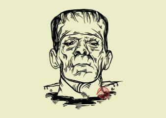 Frankenstein – Tshirt Design